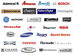 Brands of Appliances